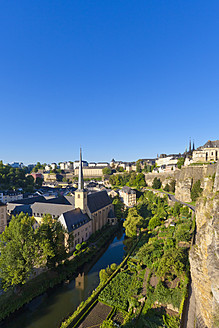 Luxembourg, View of Neumunster Abbey - WDF001377