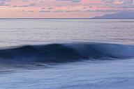 Spain, La Gomara, Breaking of waves at Valle Gran Rey - SIEF003085
