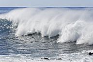 Spain, Breaking of waves at La Gomera - SIEF003097
