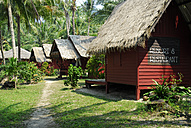 Thailand, Bungalows, resort and restaurant at Koh Mak Island - MIZ000140