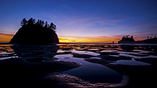 USA, Washington, View of Second Beach - SMA000065