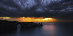 Spain, Manorca,  Upcoming storm over Balearic Islands - SMAF000098