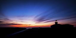 Spain, Menorca, View of lighthouse at Punta Nati - SMAF000101