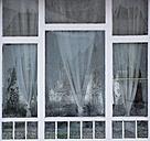Austria, Window with ice crystal - WW002631