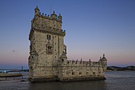 Portugal, Lisbon, View of Belem Tower - FOF004701