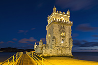 Portugal, Lisbon, View of Belem Tower - FO004703
