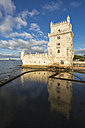Portugal, Lisbon, View of Belem Tower - FOF004726