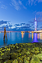 England, Hampshire, Portsmouth, View of Spinnaker Tower at Gunwharf Quays - WD001482