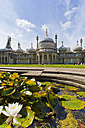 England, Sussex, Brighton, View of Royal Pavilion - WD001503
