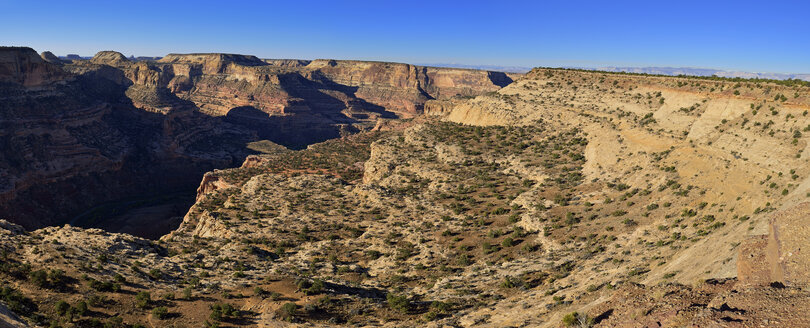 USA, Utah, View of Little Grand Canyon of San Rafael River - ESF000253
