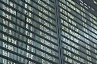 Germany, Arrival departure board at airport - TCF003326