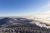 Germany, Bavaria, View from summit of Grosser Arber at Bavarian Forest - FOF004857