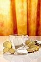 Ginger tea with tea bag, close up - CSF017331