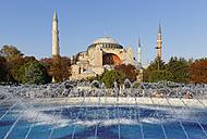 Turkey, Istanbul, View of Hagia Sophia at Ayasofya Meydani Square - SIEF003367