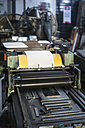 Germany, Bavaria, Interior of printing press - TC003346