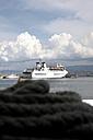 Italy, Ferry boat at sea - TK000077