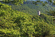 Germany, Rhineland Palatinate, View of Laurenburg Castle - MH000133