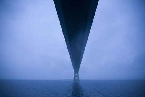 Denmark, Great Belt Fixed Link runs between Danish islands and Funen. - DISF000051
