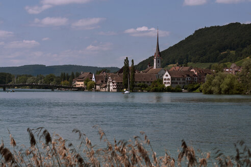 Switzerland, Schaffhausen, View of Stein am Rhein - BST000018