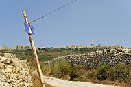 Malta, View of dead end street towards  Zebbug - MIZ000244