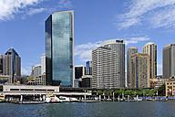 Australia, New South Wales, Sydney, View of Circular Quay at Sydney Cove - MIZ000282