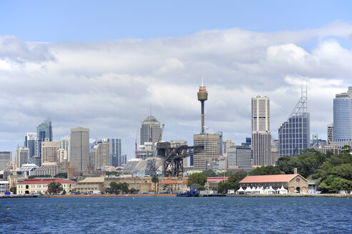 Australia, New South Wales, Sydney, View of  skyline of  Central Business Distric - MIZ000285
