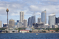 Australia, New South Wales, Sydney,  View of skyline of  Central Business Distric - MIZ000288