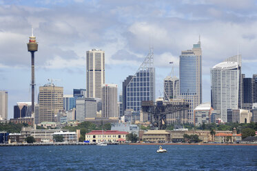Australia, New South Wales, Sydney,  View of skyline of  Central Business Distric - MIZ000288