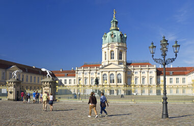 Germany, Berlin, View of Charlottenburg castle - ALE000023