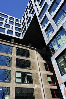 Netherlands, Amsterdam, View of Modern architecture at Piet Hein Kade - MIZ000273