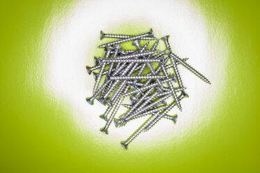 Metal screws, close up - KJF000206