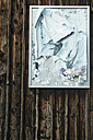 Switzerland, Poster on wooden wall - JED000019