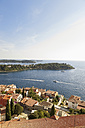 Croatia, View from Sv Eufemija Church on old town of Rovinj - MS002889