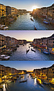 Italy, Venice, View of Grand Canal at dusk - HSIF000159