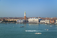 Italy, Venice, View of Canal Grande, St Mark Campanile and Dog's Palace - HSIF000279