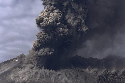 Japan, View of eruption at Sakurajima - MR001289