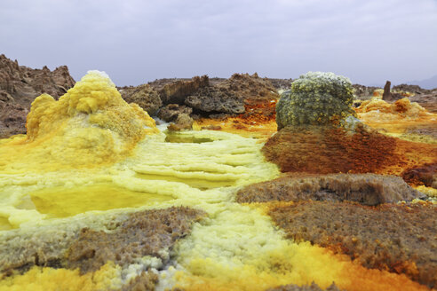 Ethiopia, View of geothermal site Dallol - MR001341