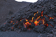 Iceland, View of lava from Eyjafjallajokull Fimmforduhals, 2010 - MR001365
