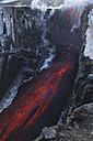 Iceland, View of lava erupting from Eyjafjallajokull Fimmforduhals, 2010 - MR001373