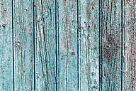 Spain, Close up of blue wooden facade - WVF000372