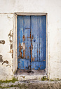 Spain, Wooden door, close up - WVF000350