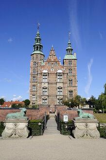 Denmark, Copenhagen, View of  Rosenborg castle - LH000008