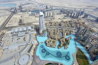 United Arab Emirates, Dubai, View of Business bay - LH000047