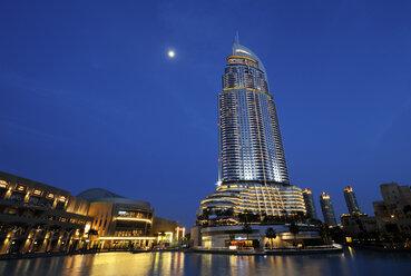 United Arab Emirates, Dubai, View of Address hotel - LH000049