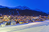 Switzerland, Davos, view of city - WDF001729
