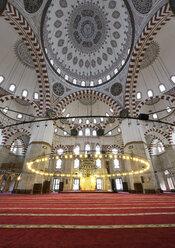 Turkey, Istanbul, Interior of Sehzade Mosque - LH000076