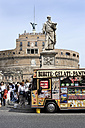 Italy, Rome, View of Castel Sant'Angelo - MIZ000309