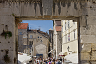 Croatia, Split, View of historical center - LV000035