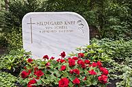 Germany, Berlin, Memorial grave of Hildegard Knef - CB000026