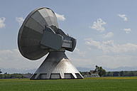 Germany, Bavaria, View of Satellite dish at Raisting - CR002415